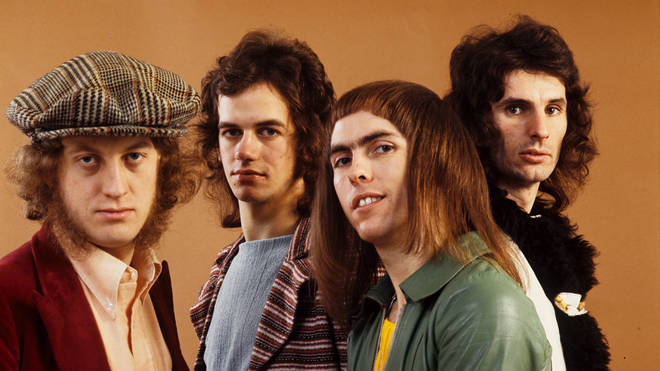 Slade in 1971 (Noddy Holder and Jim Lea far left)