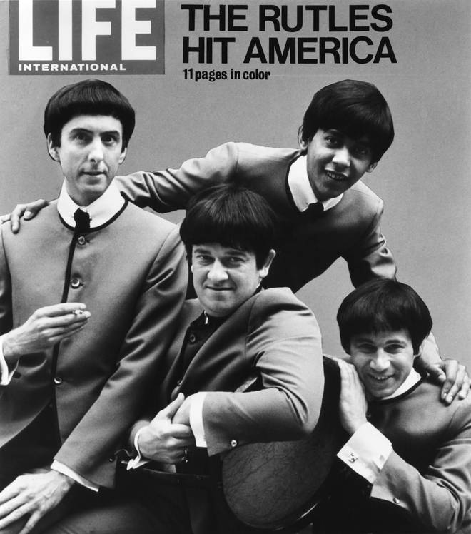Neil Innes (bottom right) with The Rutles