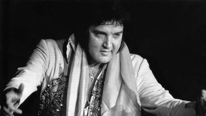 Elvis Presley in 1977