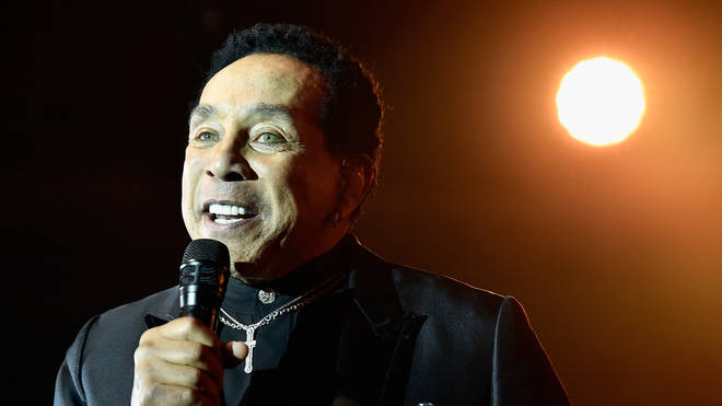 Smokey Robinson performing in 2018