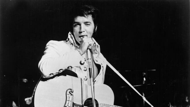 Elvis Presley in 1970