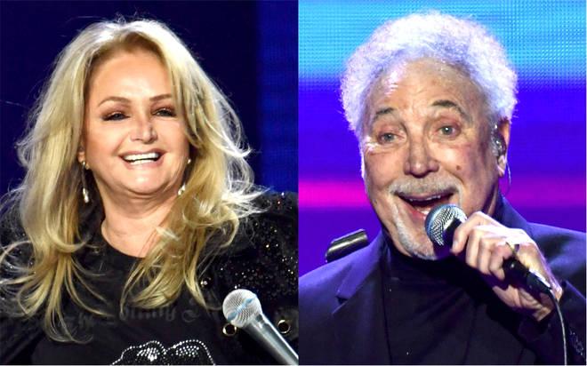 Bonnie Tyler wants Sir Tom Jones collaboration as singer confirms new album