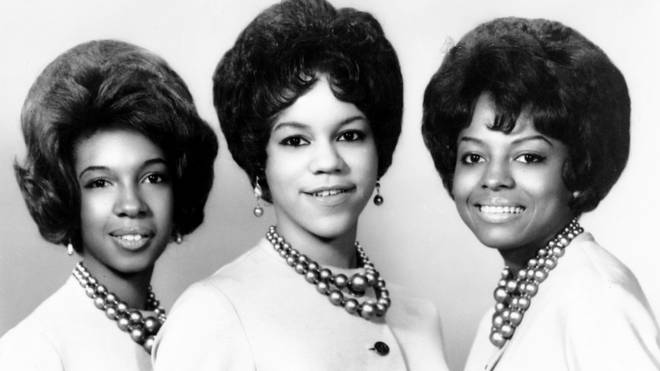 The Supremes in 1962