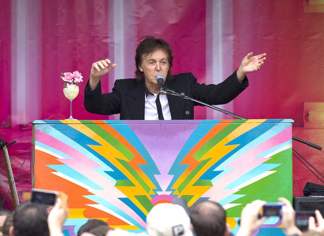 Paul McCartney's piano designs found in skip could fetch £2,000