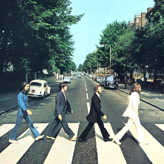 The Beatles Abbey Road zebra crossing album cover
