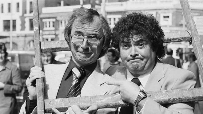 Syd Little (left) and Eddie Large (right) in 1980
