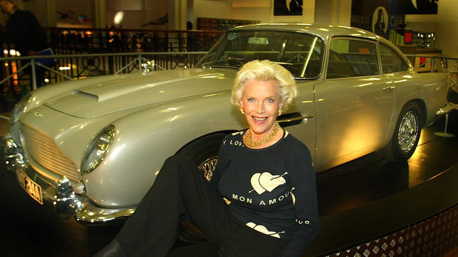 Honor Blackman in 2002