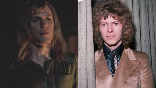 Johnny Flynn as David Bowie in Stardust