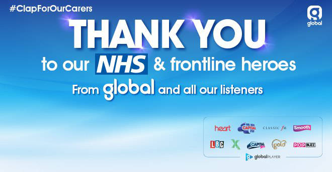 Thank You to our NHS and frontline heroes