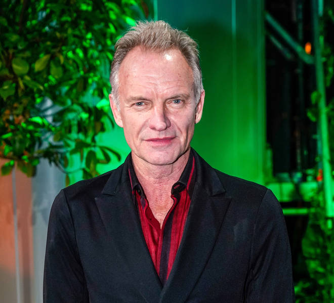 Sting performs from home studio for 'In my room' set