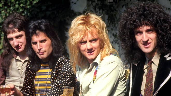 Freddie Mercury in Queen