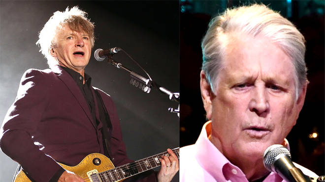 Beach Boys' Brian Wilson shares Crowded House star Neil Finn's stunning cover of 'God Only Knows'