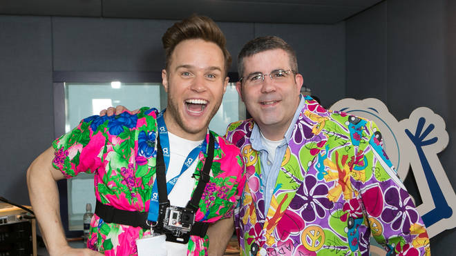 Tony Dibbin dresses loud with Olly Murs