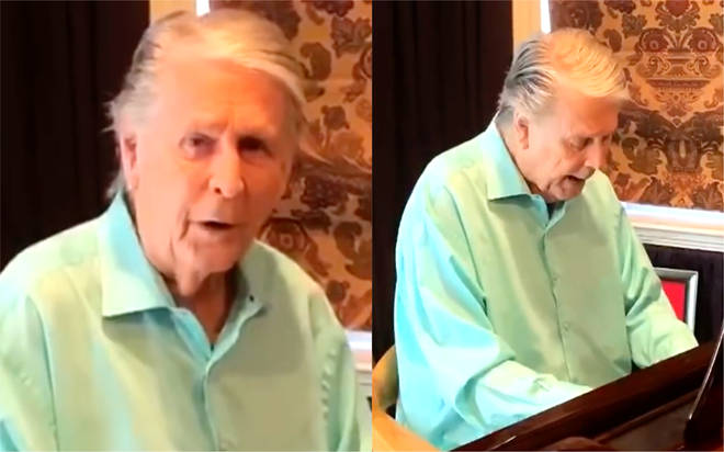 Beach Boys star Brian Wilson performs 'God Only Knows' while in lockdown