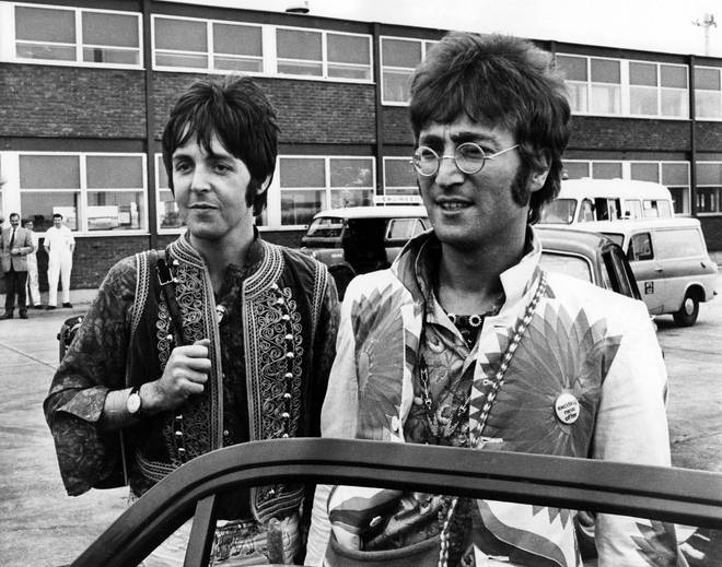Tensions were mounting between Paul McCartney and John lennon from as early as 1966