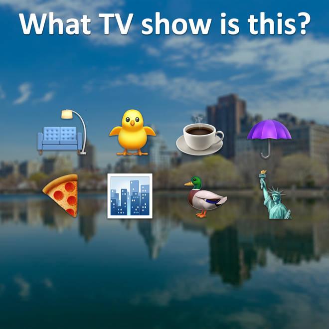 TV as emojis