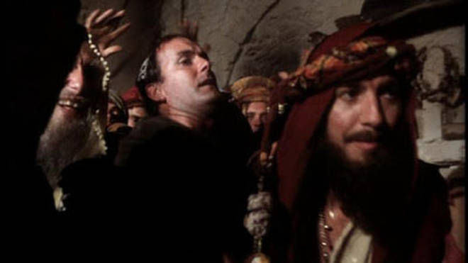 George Harrison made a cameo in Life of Brian