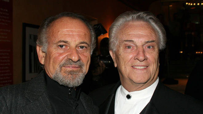 Tommy DeVito with actor Joe Pesci
