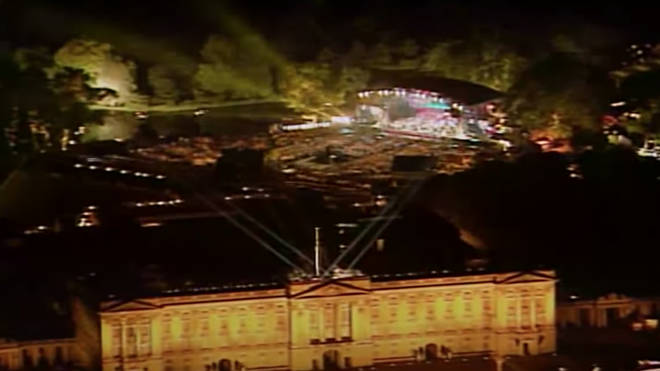 The Buckingham Palace performance came at the end of a night where the best of British music performed for the royal family and for an estimated 1 million people in the streets surrounding the palace and over 200 million watching on TV worldwide.