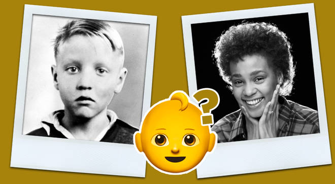 Can you recognise the famous singers in these old childhood photos?