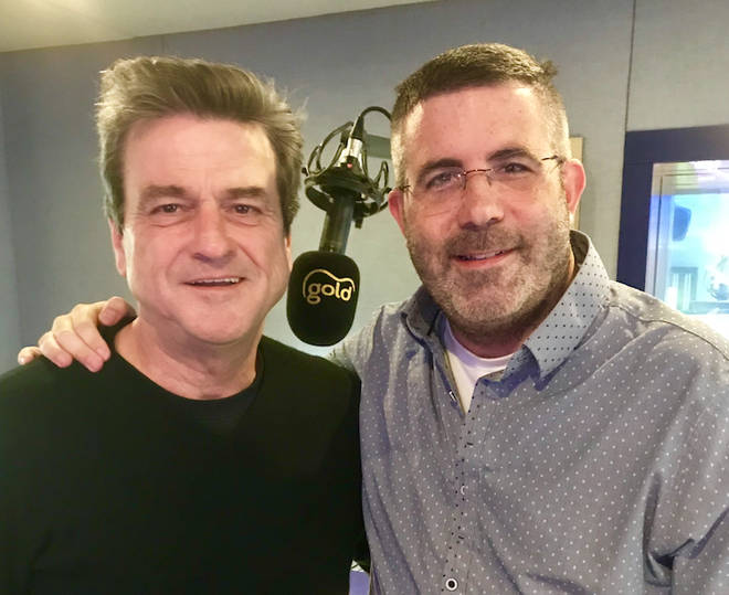 Tony Dibbin with Les McKeown