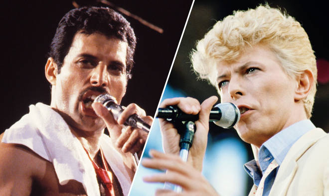 Listen to Freddie Mercury and David Bowie's 'Under Pressure' a cappella