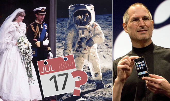 What's the year? See if you can remember when these famous events happened