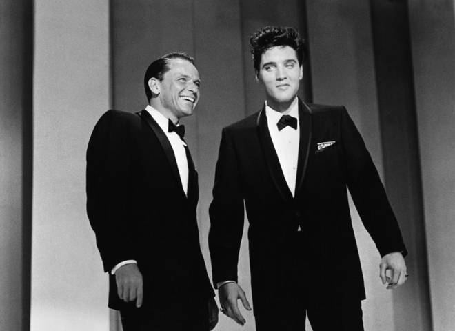 Watch Elvis Presley and Frank Sinatra perform a medley of their hits in 1960