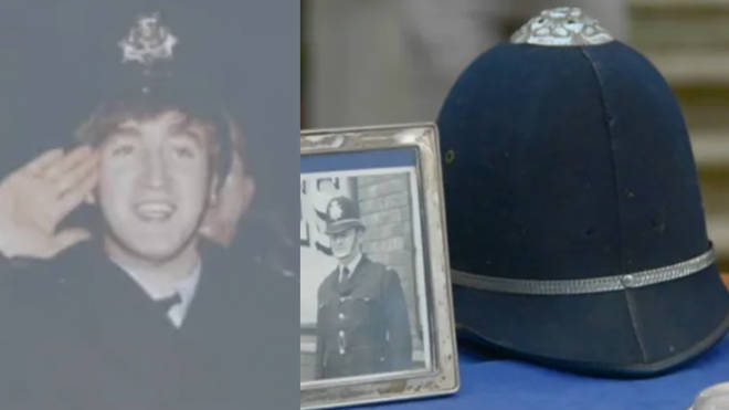 An Antiques Roadshow guest was stunned to learn the value of a policeman's helmet that belonged to her father and was once worn by John Lennon.