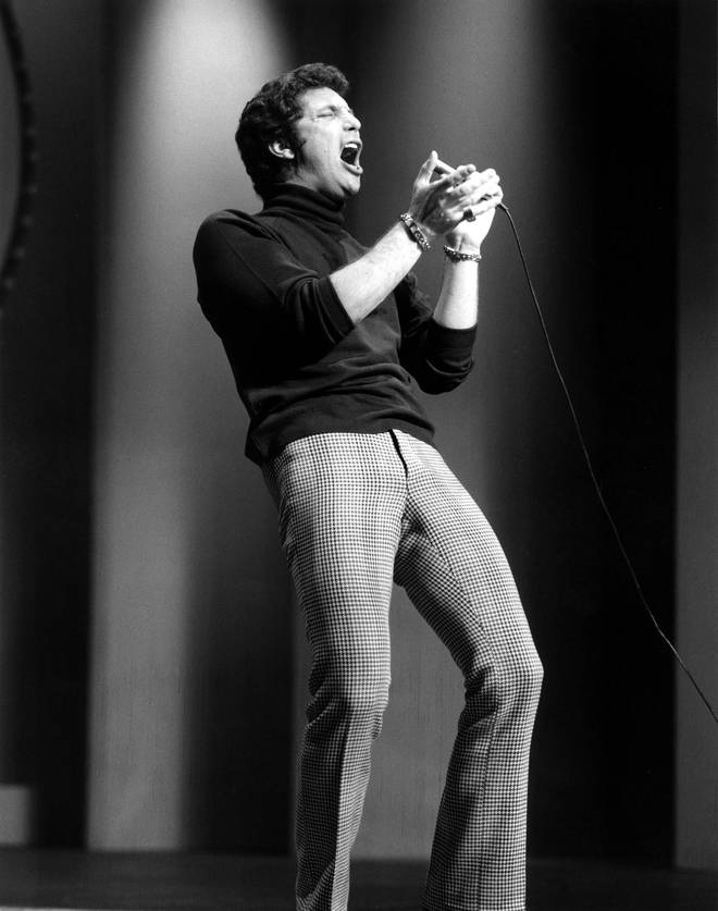 The music video charts the last 70 years of television through vintage clips of cultural milestones throughout his career. Pictured in 1965.
