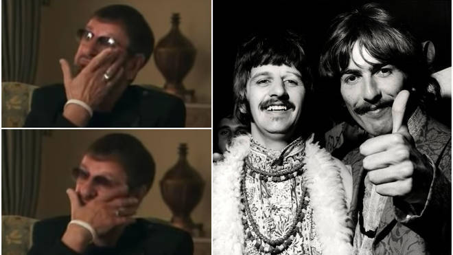Ringo Starr reveals George Harrison's final words to him was a bittersweet joke on his deathbed