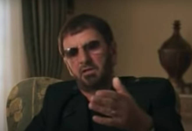 In footage taken from the Martin Scorsese documentary George Harrison: Living in the Material World, Ringo Starr reveals what was said on his last visit to the Beatle star's home in Switzerland.