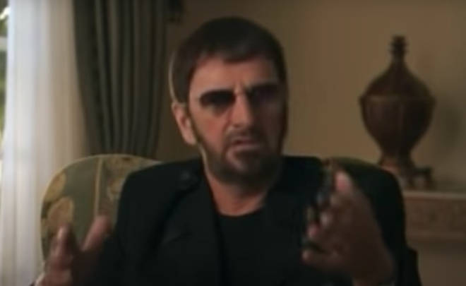 George Harrison had had surgery for throat cancer in 1998 and was treated for lung cancer and a brain tumor not long before his death in 2001. Pictured, Ringo Starr.