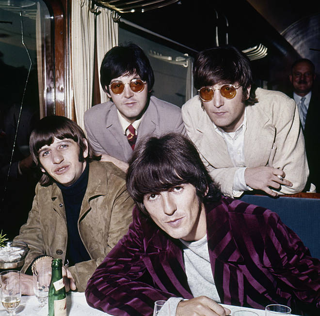 The Beatles pictured in 1966. (L to R) Ringo Starr, Paul McCartney, George Harrison and John Lennon.
