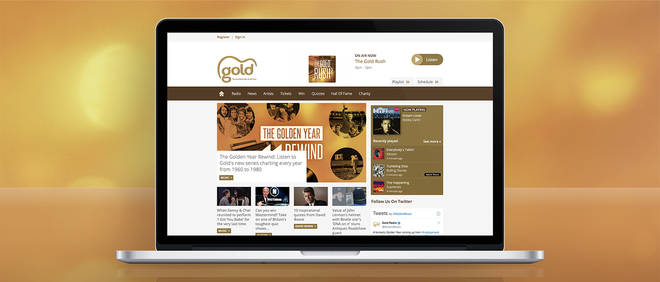 How to listen to Gold online