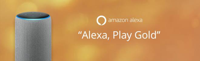 Listen to Gold on smart speakers:Alexa
