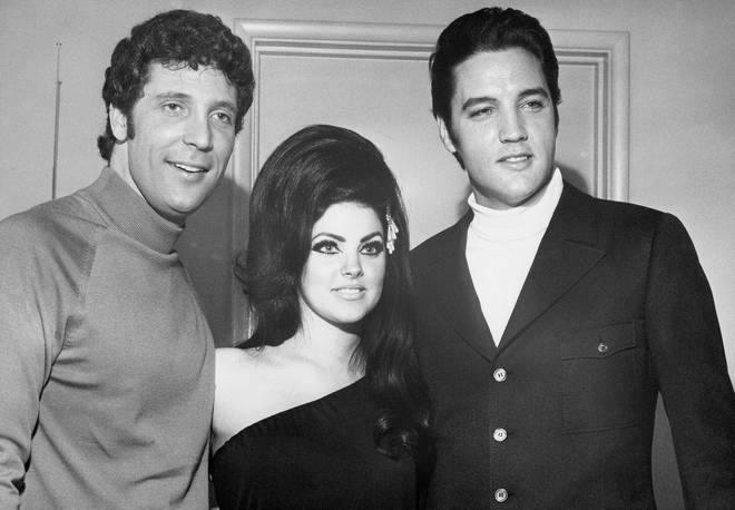 The year was 1965 and up-and-coming singer Tom Jones had just released his third single, 'With These Hands' when he travelled to Los Angeles for the first time. Pictured in 1968.