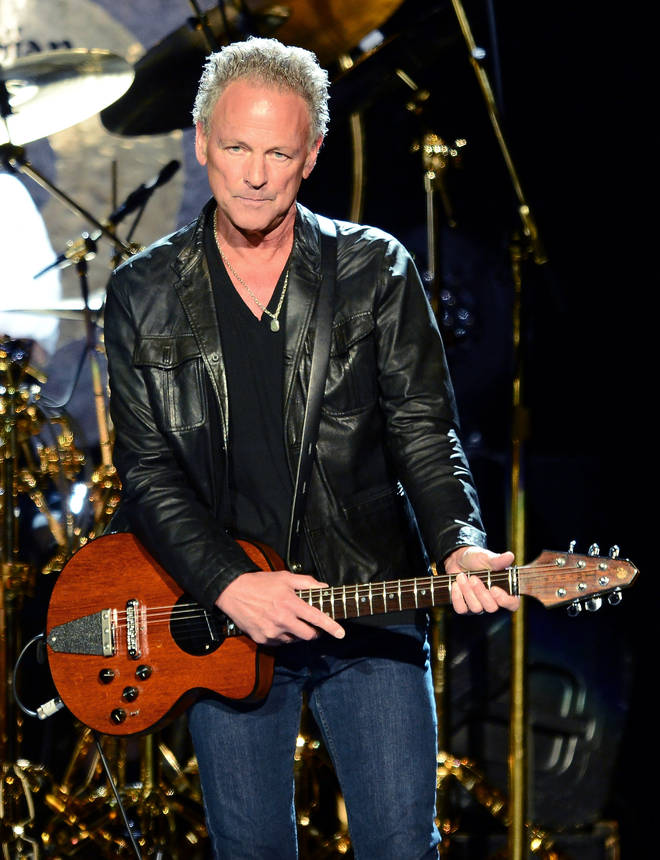 Lindsey Buckingham was famously fired from Fleetwood Mac in 2018. Pictured performing at the MGM Grand Garden Arena on May 26, 2013 in Las Vegas, Nevada