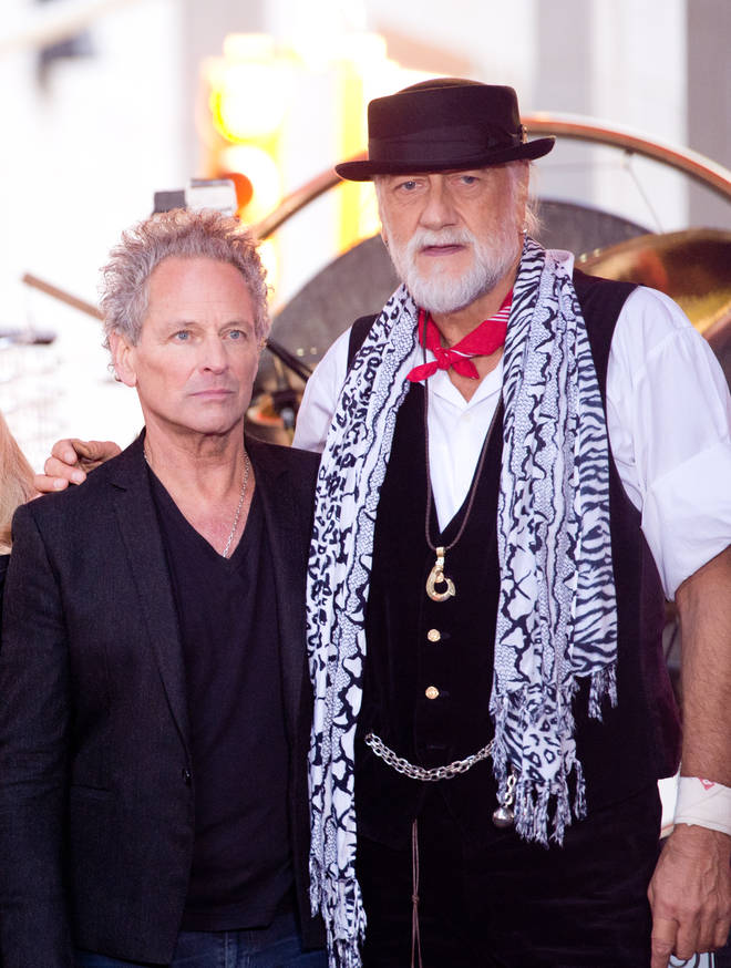 """Asked whether fans would see Buckingham join the group for a farewell tour, Mick Fleetwood said: """"Strange things can happen. I look at Fleetwood Mac as a huge family."""" The pair pictured at the Grammy&squot;s in 2018, shortly before Lindsay left the group."""