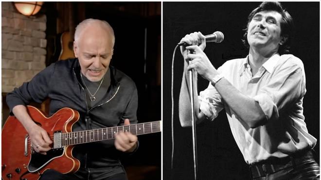 Peter Frampton and Bryan Ferry
