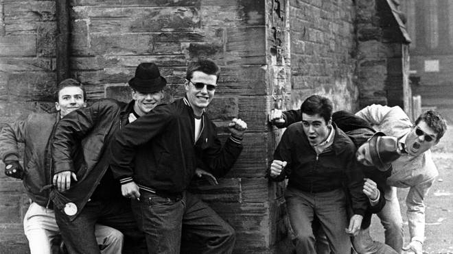Madness pictured in the early days