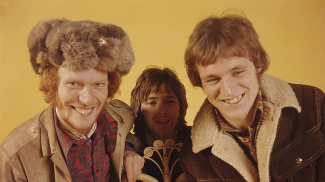 Ginger Baker, Eric Clapton and Jack Bruce of 60's rock group, Cream