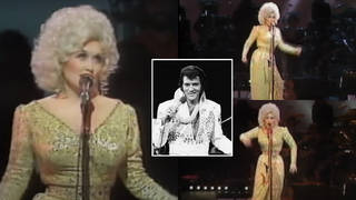 Dolly Parton was on stage in 1983 when she started telling the audience a story of how she used to do Elvis impressions when she was a child.