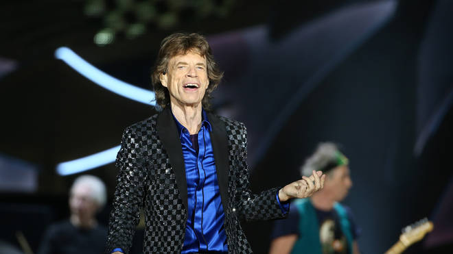 Jagger Performing in 2014 with The Rolling Stones