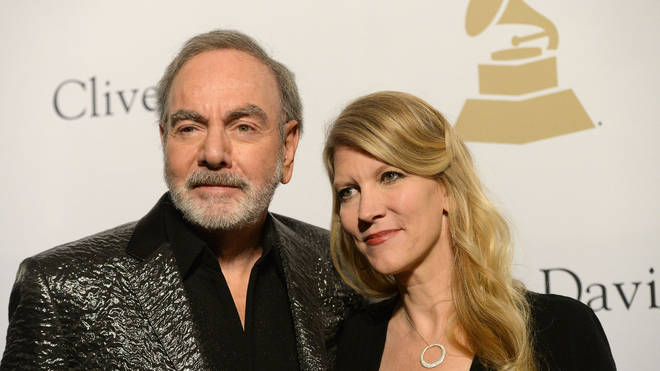 Neil Diamond and wife Katie McNeil in 2017