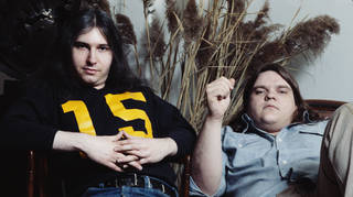 Meat Loaf And Jim Steinman in 1978