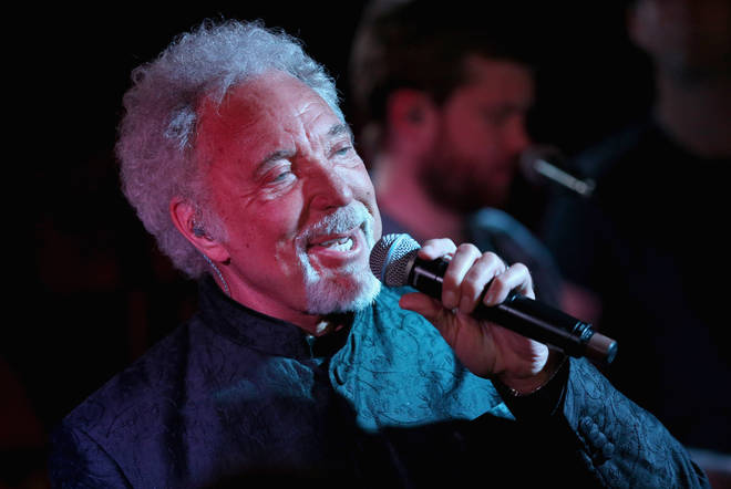 """I knew I was put on this Earth for this purpose,"" say Sir Tom Jones. ""I think God gave me this voice. And when you get a gift like this, you should see it through."" Pictured performing in 2012."