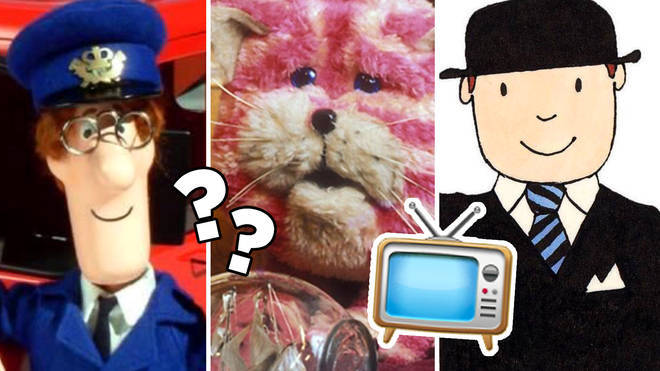 Can you name these classic kids' TV shows from just one picture?