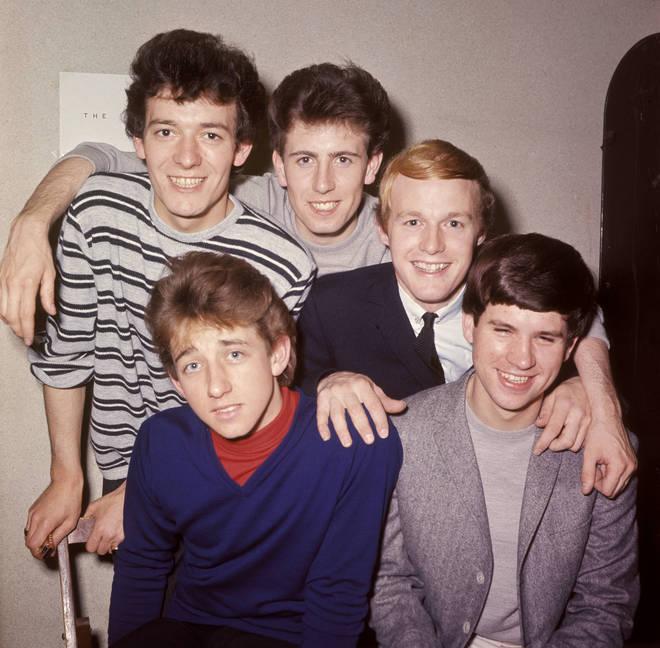 The Hollies (Allan Clarke, Graham Nash, Bobby Elliott, Tony Hicks and Eric Haydock
