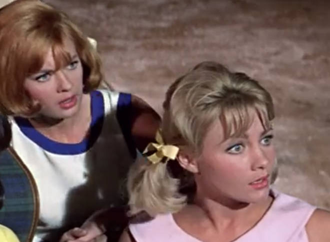 Pamela Hart and Jacqueline Daryl (Angie and Mimsie)